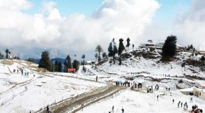 The view of climate in Shimla
